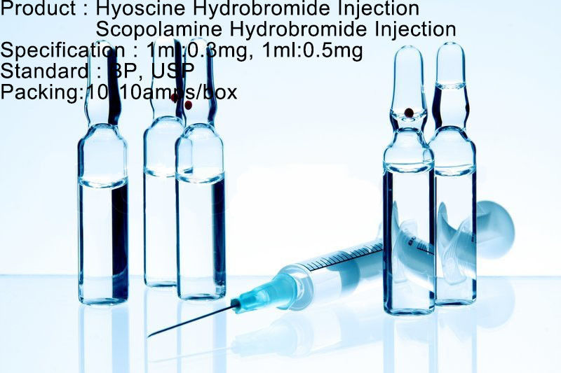 Hyoscine Hydrobromide Injection / Scopolamine Hydrobromide Injection