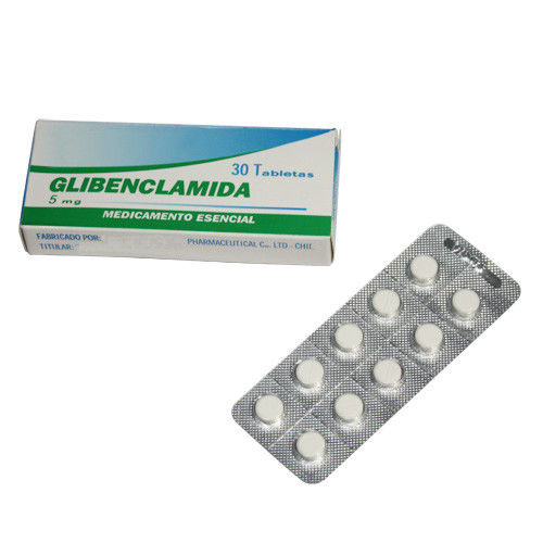 Glibenclamide Tablets Glyburide Tablets 2.5mg, 5mg Oral Medications
