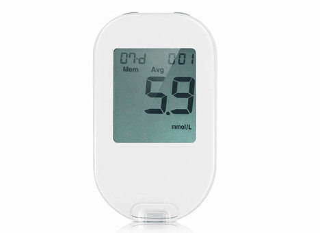 6 Seconds Fast Electronic Medical Equipment Blood Glucose Meter With Password Code